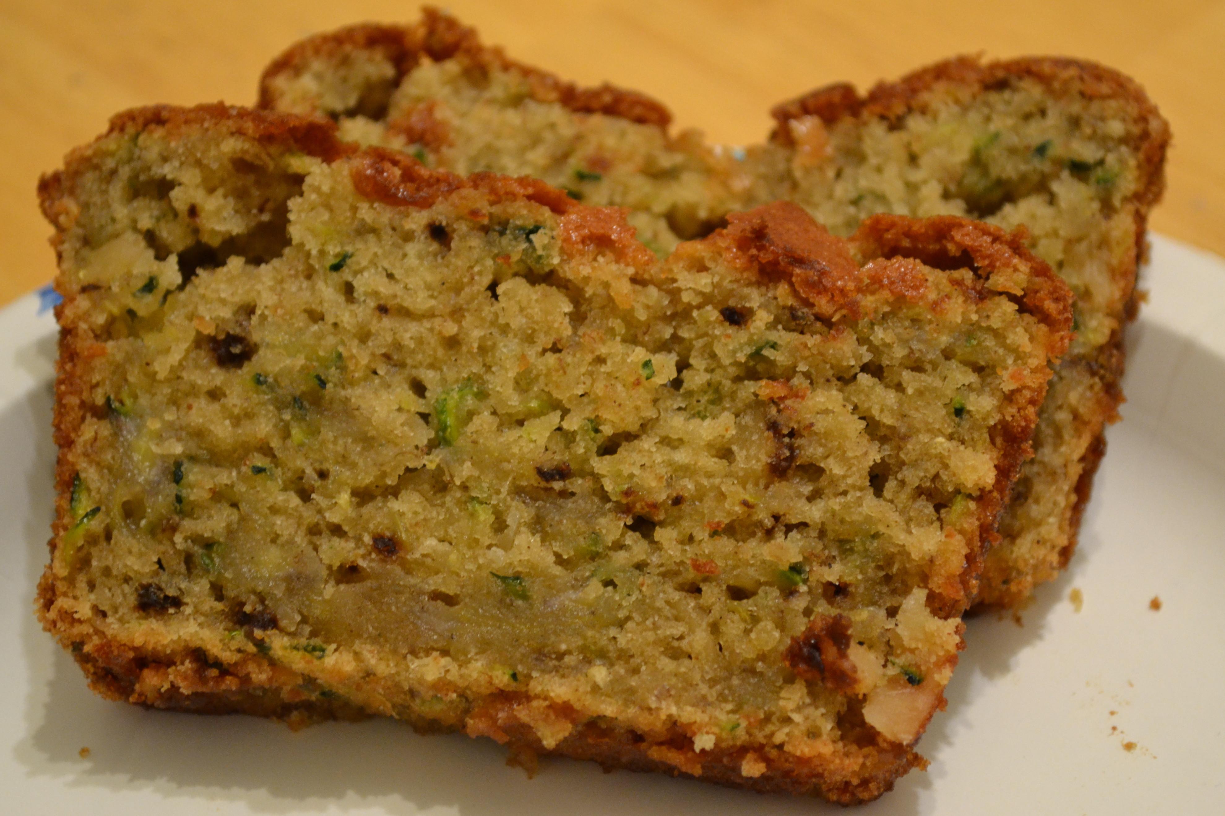 Moist Healthy Zucchini Bread Recipe  super moist zucchini bread