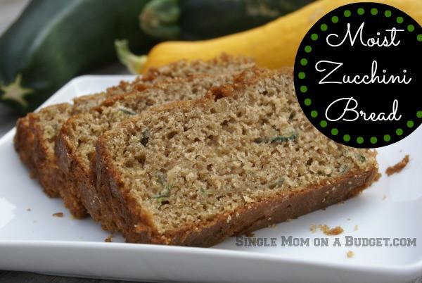Moist Healthy Zucchini Bread Recipe  super moist zucchini bread recipe