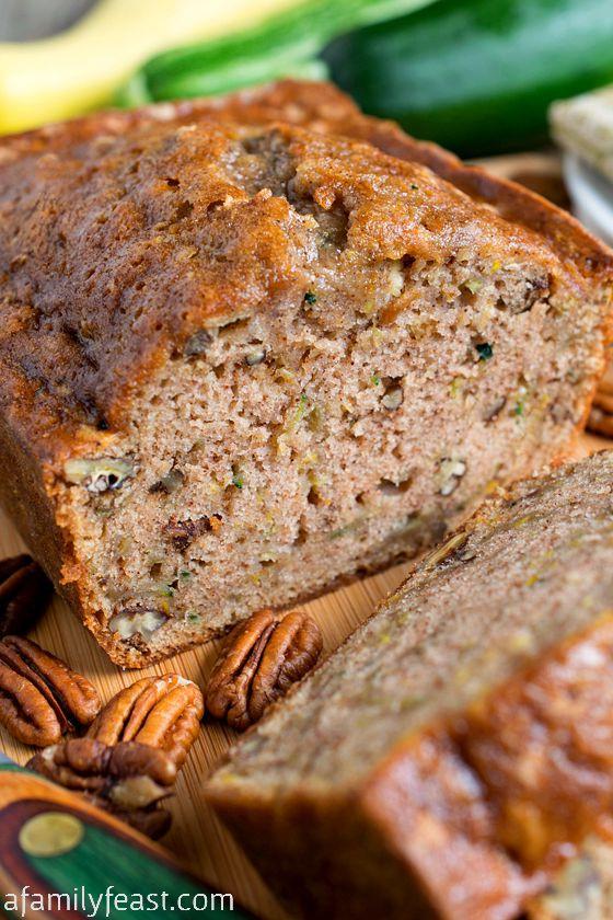 Moist Healthy Zucchini Bread Recipe  10 Best Zucchini Bread Recipes
