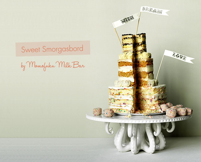 Momofuku Wedding Cakes  A Different Take on Cake Green Wedding Shoes