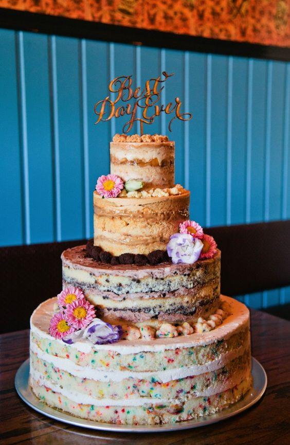 Momofuku Wedding Cakes  Momofuku Gelato al biscotto and Torte da matrimonio on