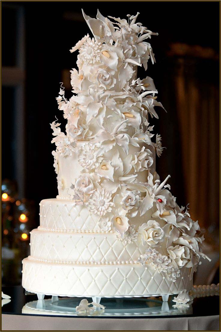 Most Beautiful Wedding Cakes In The World  Rustic Wedding Cakes Ideas