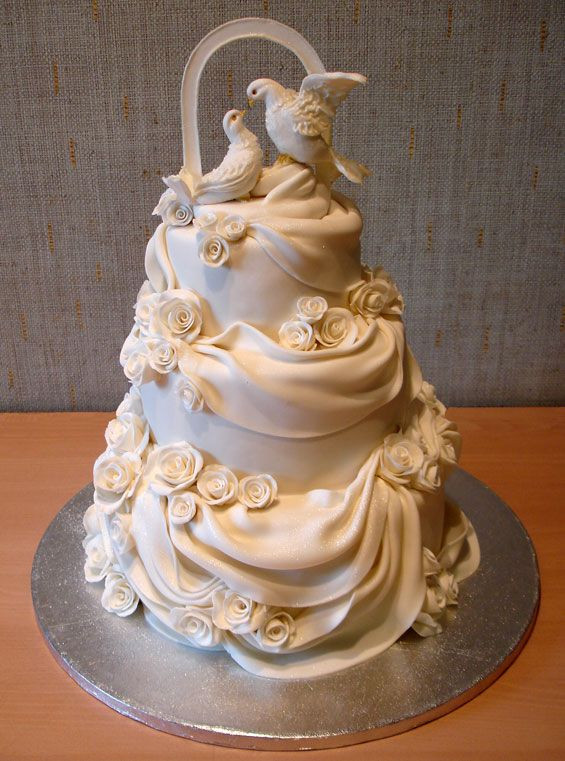 Most Beautiful Wedding Cakes In The World  The Most Beautiful Wedding Cakes 35 pics