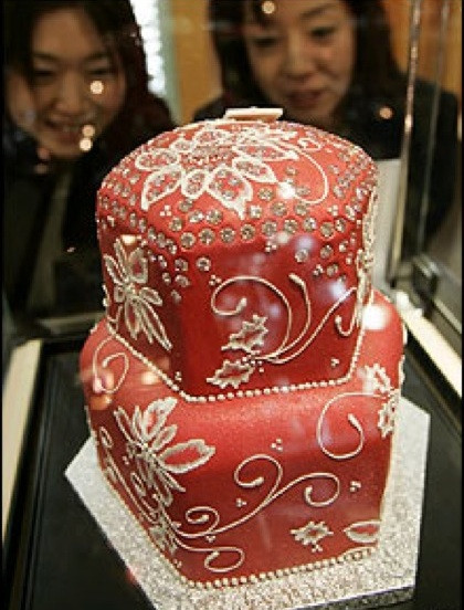 Most Expensive Wedding Cakes  Most Expensive Wedding Cake