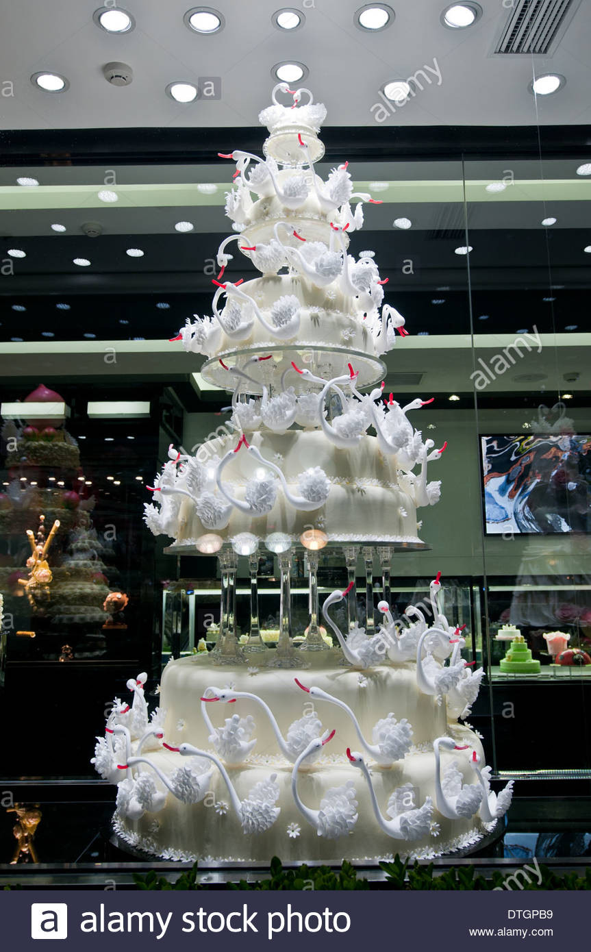 Most Expensive Wedding Cakes  Most expensive wedding cake in Black Swan Luxury Cake shop