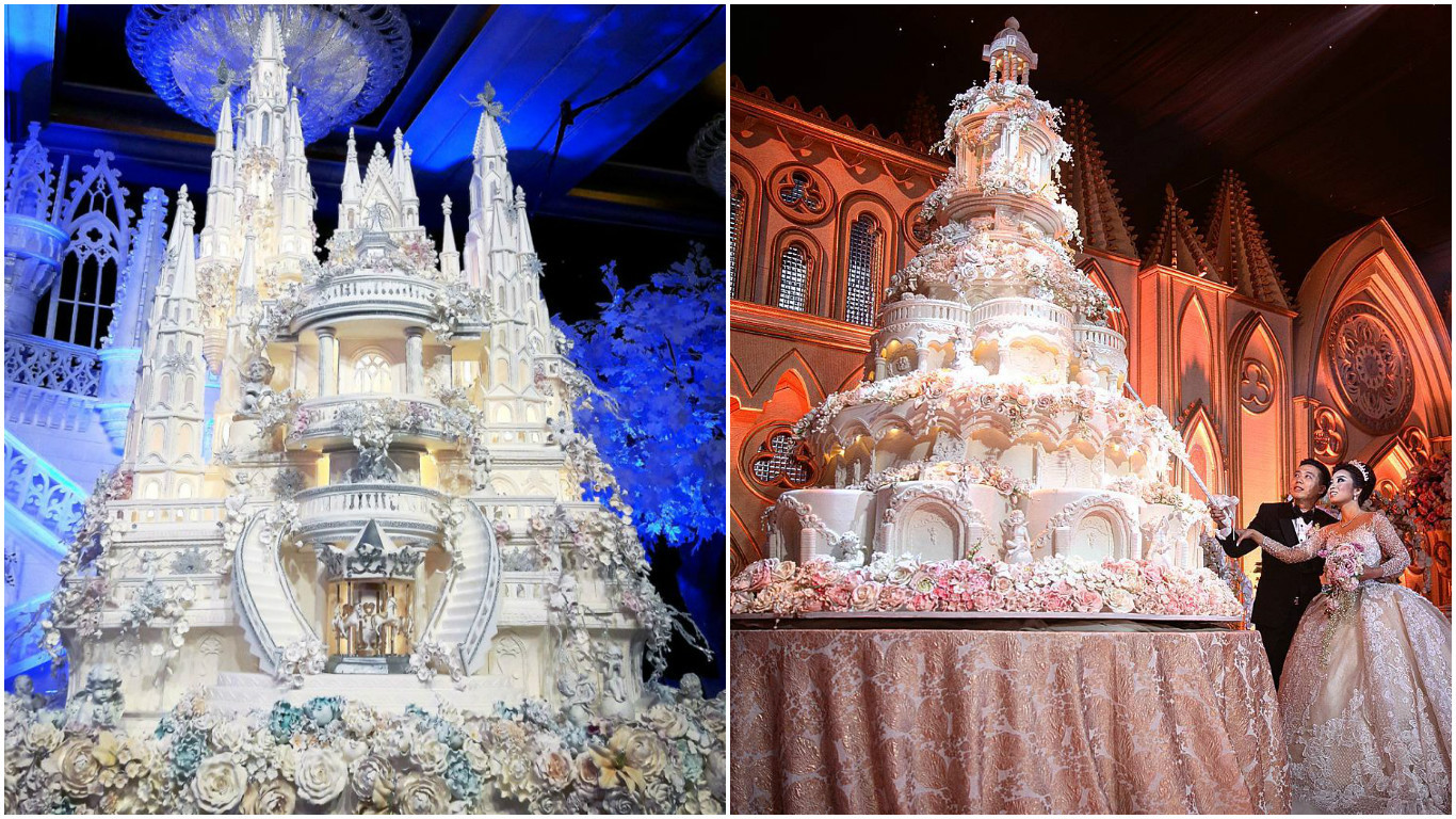 Most Expensive Wedding Cakes  Proof This Indonesian bakery creates the worlds most