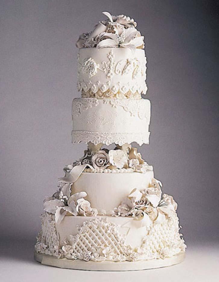 Most Extravagant Wedding Cakes  Most Expensive Wedding Cake