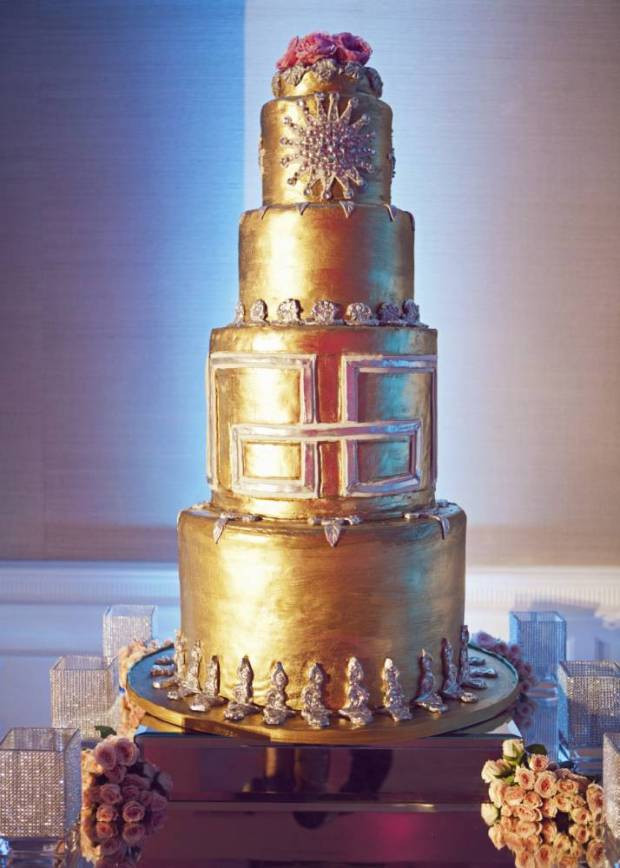 Most Extravagant Wedding Cakes  World s most expensive extravagant weddings according to