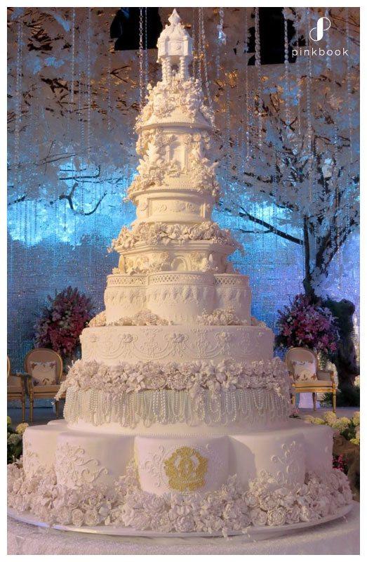 Most Extravagant Wedding Cakes  10 Most Extravagant Wedding Cakes