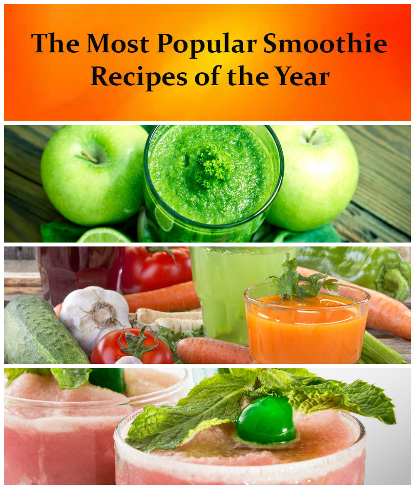 Most Healthy Smoothies  Top Ten Smoothie Recipes of the Year All Nutribullet Recipes
