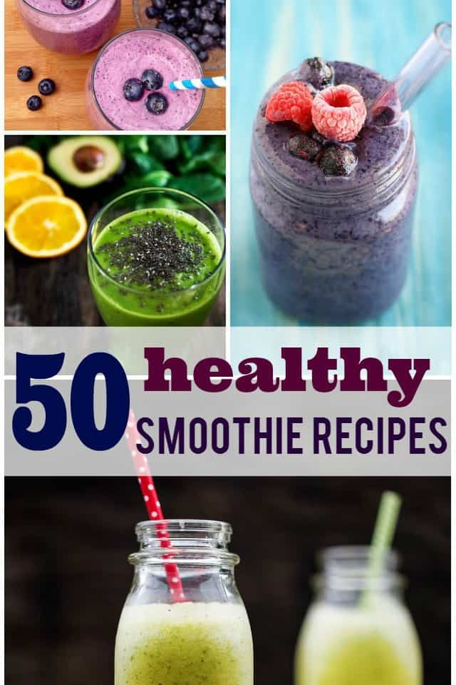 Most Healthy Smoothies  50 Healthy Smoothie Recipes The Pretty Bee