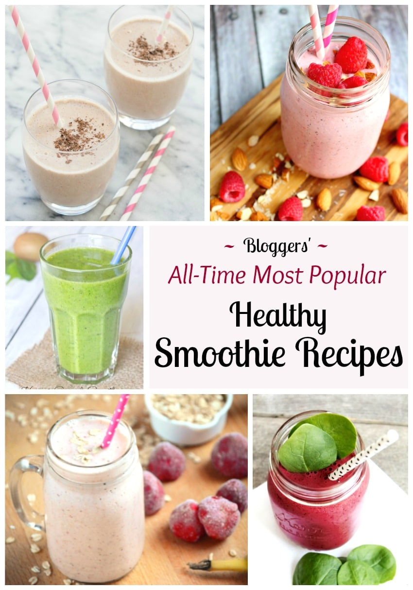 Most Healthy Smoothies  5 of the All Time Best Healthy Smoothie Recipes Two