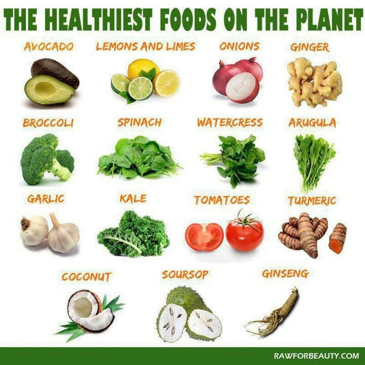 Most Healthy Snacks  Healthiest fruits and ve ables