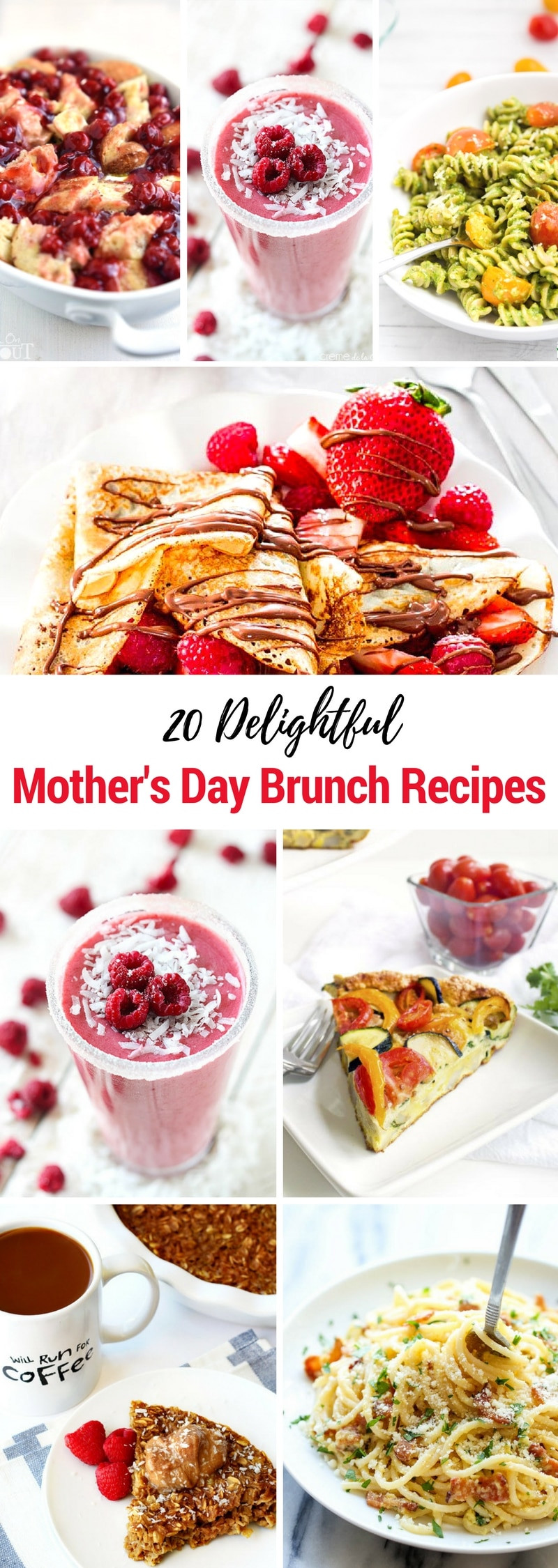 Mother Day Breakfast Recipes  20 Mother s Day Brunch Recipes The Chunky Chef