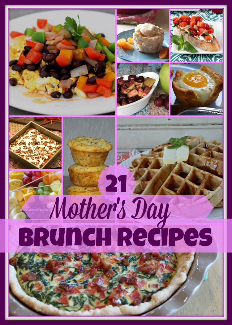 Mother Day Breakfast Recipes  21 Fabulous Mother Day Brunch Recipes Upstate Ramblings