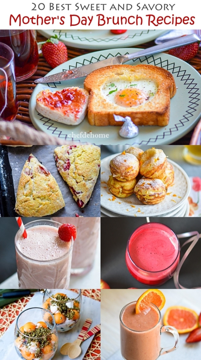 Mother Day Breakfast Recipes  Sweet and Savory Mother s Day Brunch Recipes Meals