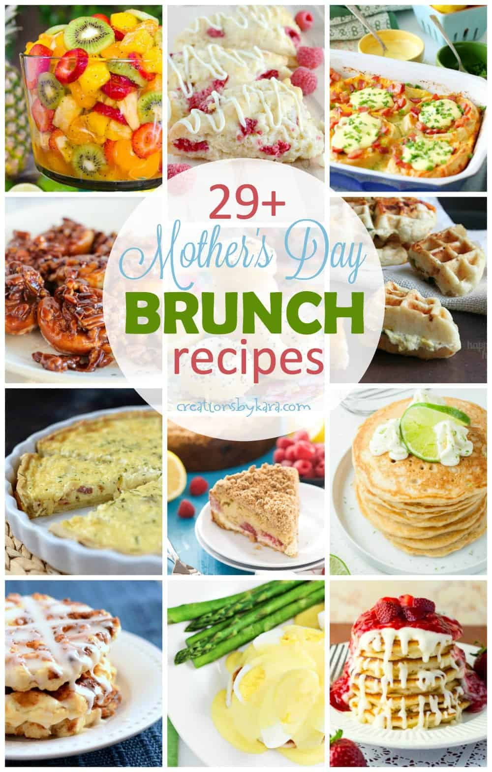 Mother'S Day Breakfast Recipes  Mother s Day Brunch Recipes Creations by Kara