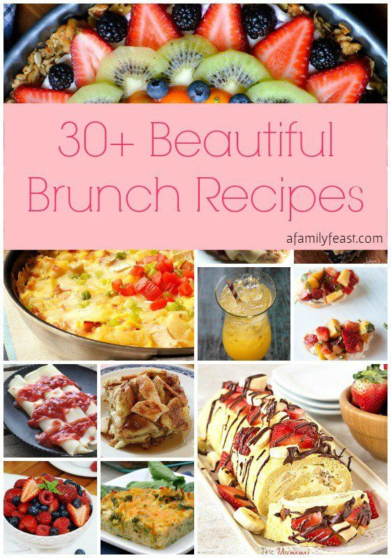 Mother'S Day Dessert Recipes  30 Beautiful Brunch Recipes for Mother s Day