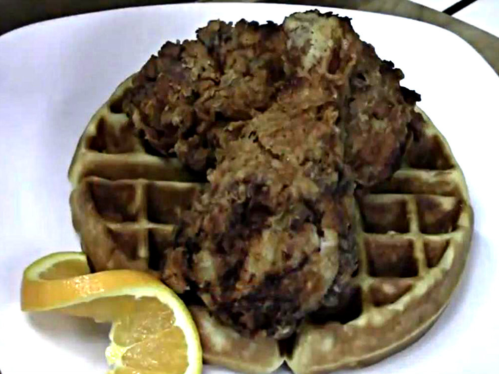 Mother'S Day Dessert Recipes  Chicken And Waffles Mother s Day Brunch Recipe Video by