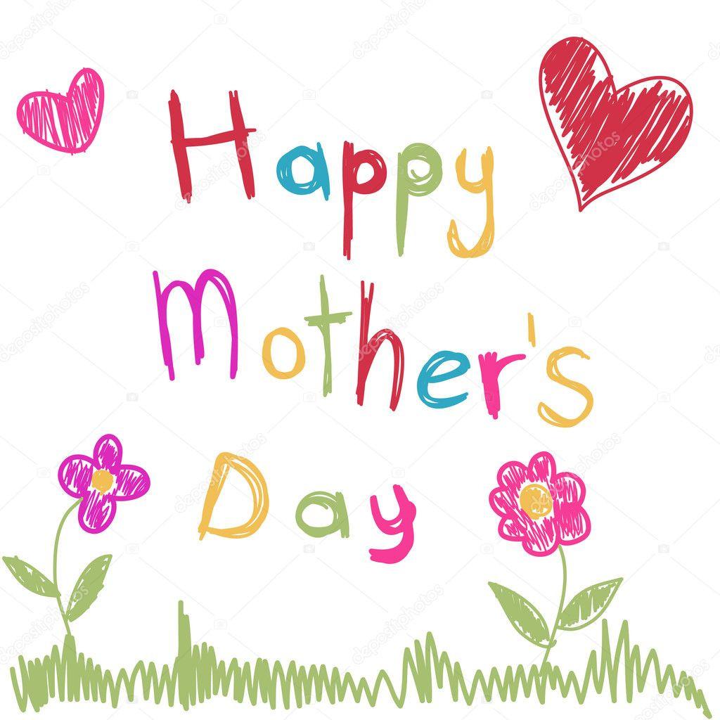 Mother'S Day Desserts Pinterest  Mother s Day — Stock Vector © lemony