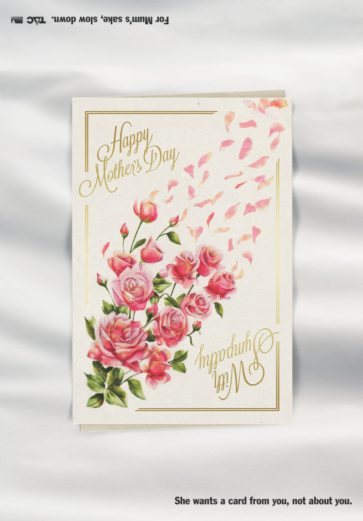 Mother'S Day Desserts Pinterest  TAC Direct Advert By Grey Mother s Day Card