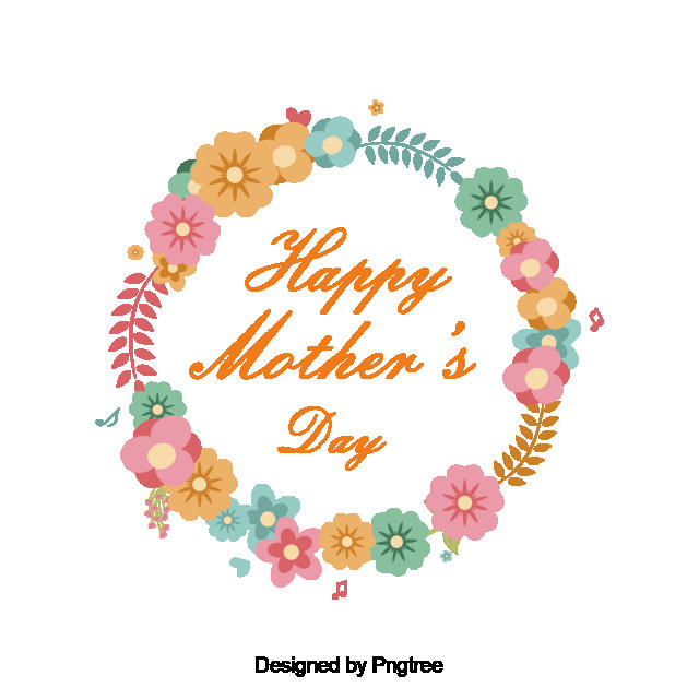 Mother'S Day Desserts  Happy Mother s Day Wreath Happy Mother s Day Mommy Mom