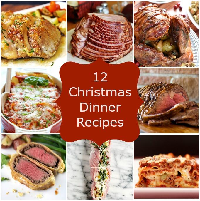 Mother'S Day Dinner Ideas Pinterest  12 Christmas Dinner Recipes Stuck Sweet