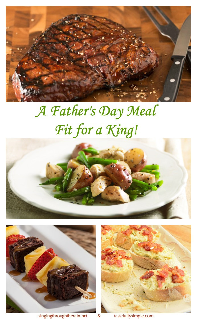 Mother'S Day Dinner Ideas Pinterest  A Father s Day Meal Fit for a King