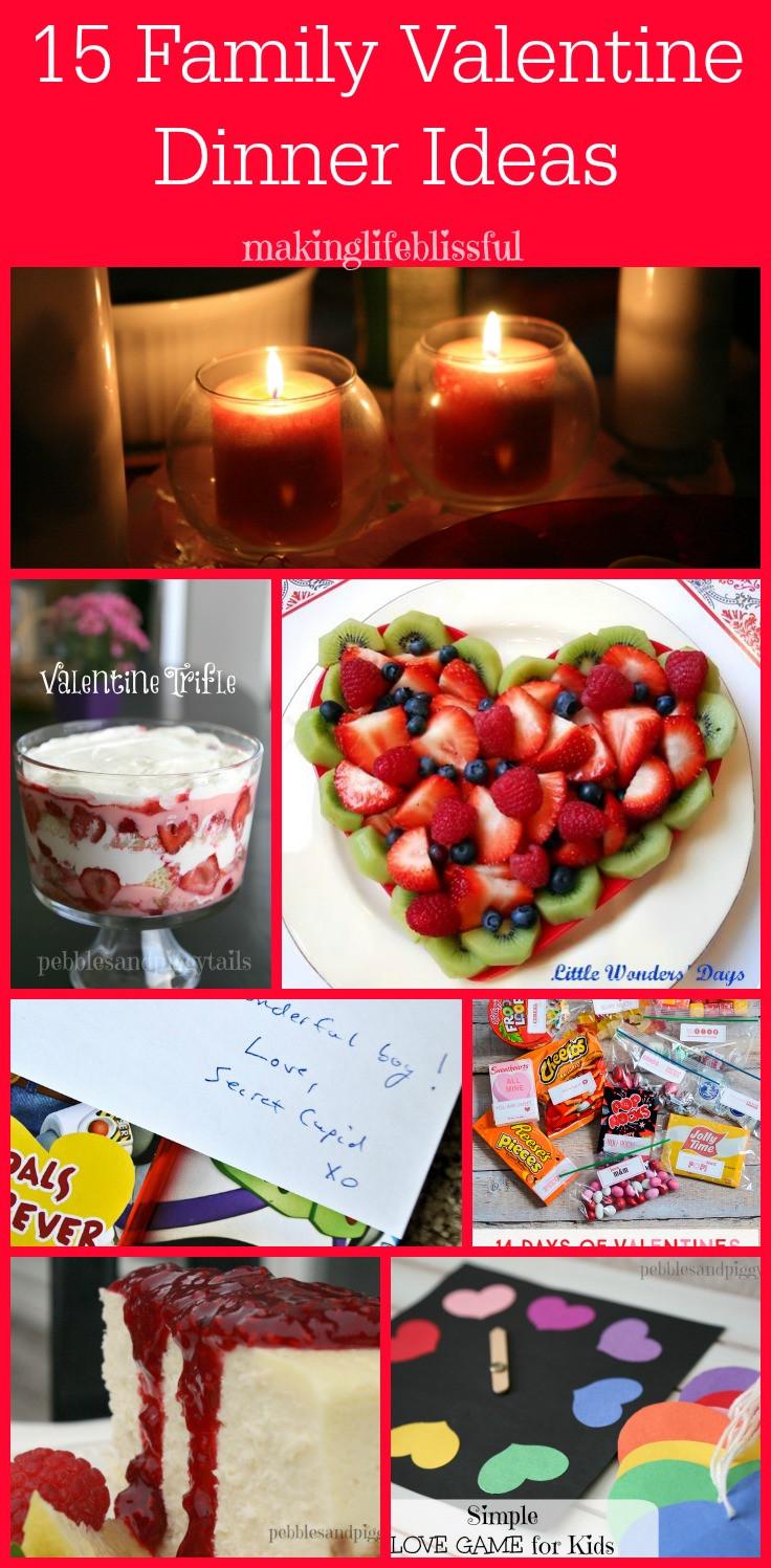 Mother'S Day Dinner Ideas Pinterest  Valentine Dinner Ideas for Families