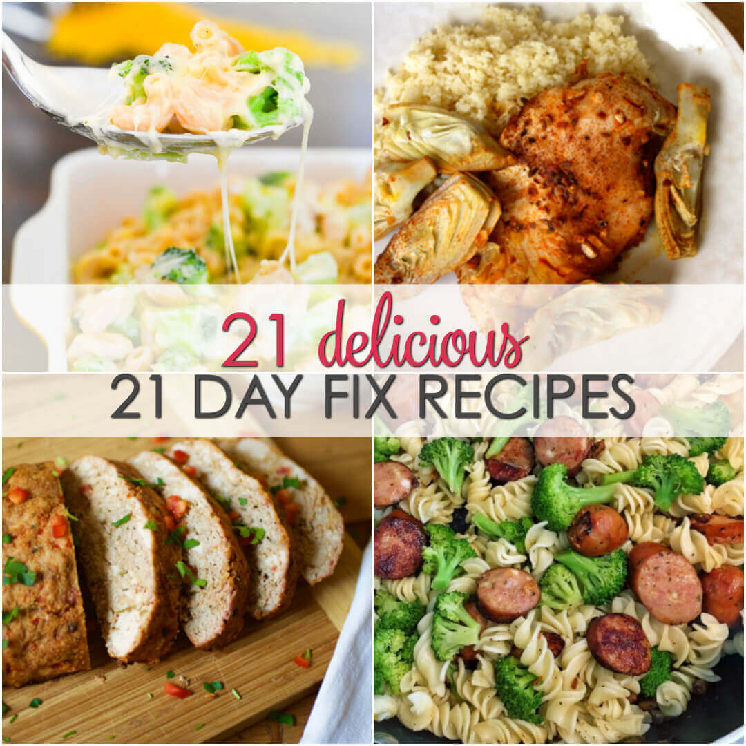 Mother'S Day Dinner Ideas  21 Day Fix Recipes
