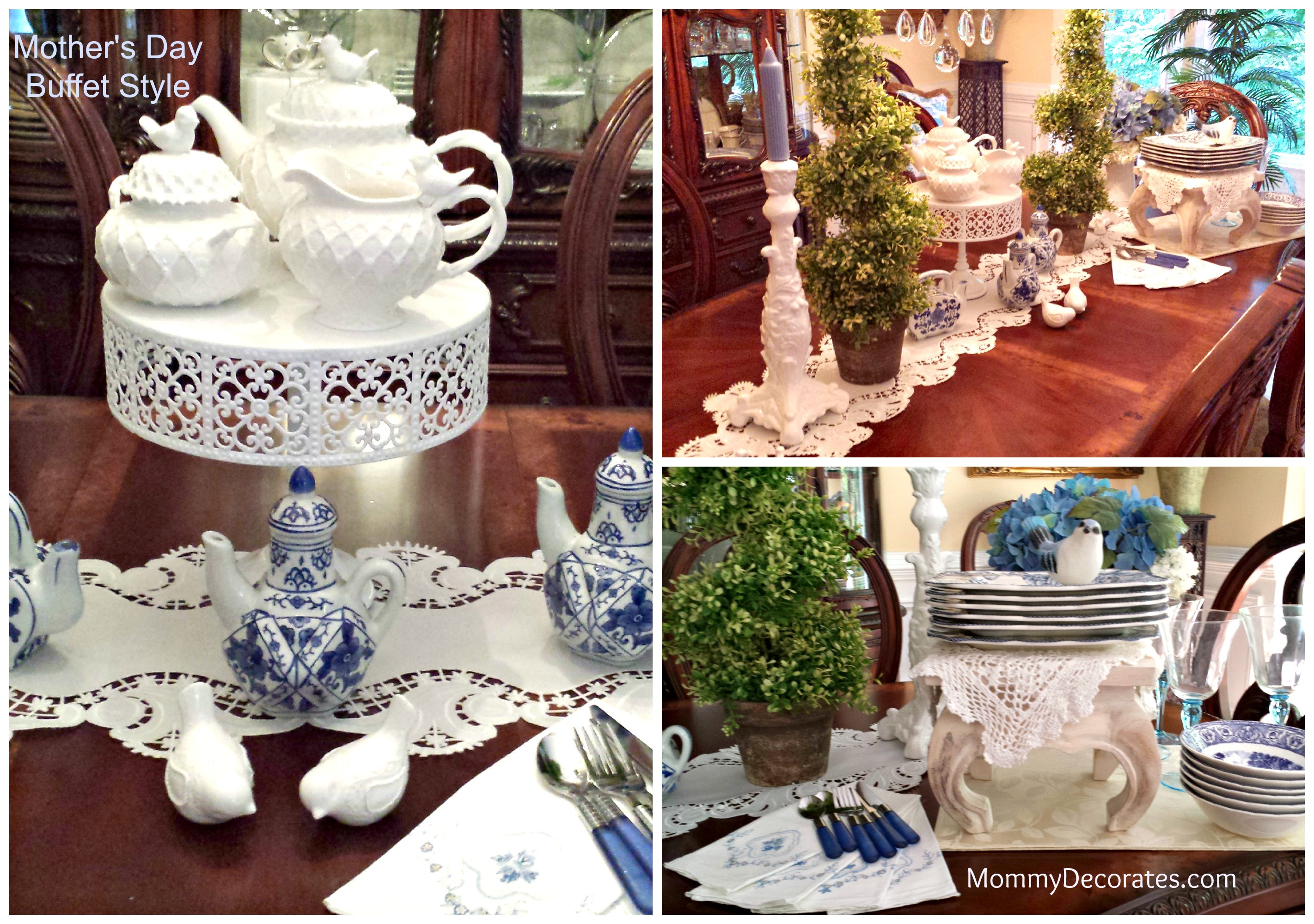 Mother'S Day Dinner Recipes  Mother 039 s Day Brunch Buffet Style Table Setting Ideas