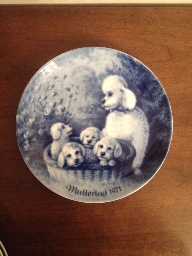 Mother'S Day Dinners  MUTTERTAG 1971 BERLIN DESIGN MOTHER S DAY PLATE