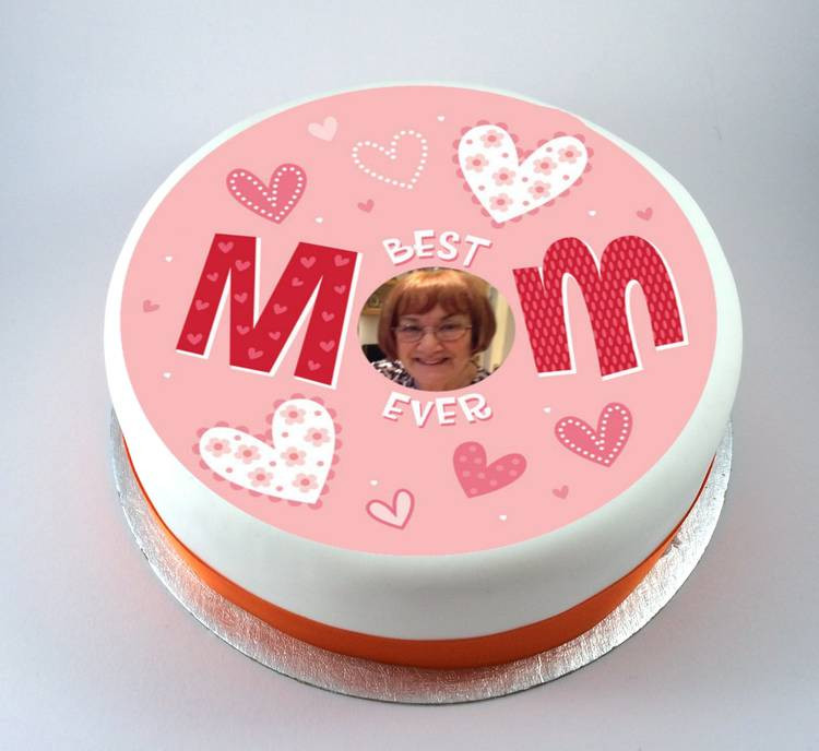Mother'S Day Sugar Cookies  Mothers Day Best Mom Ever Cake