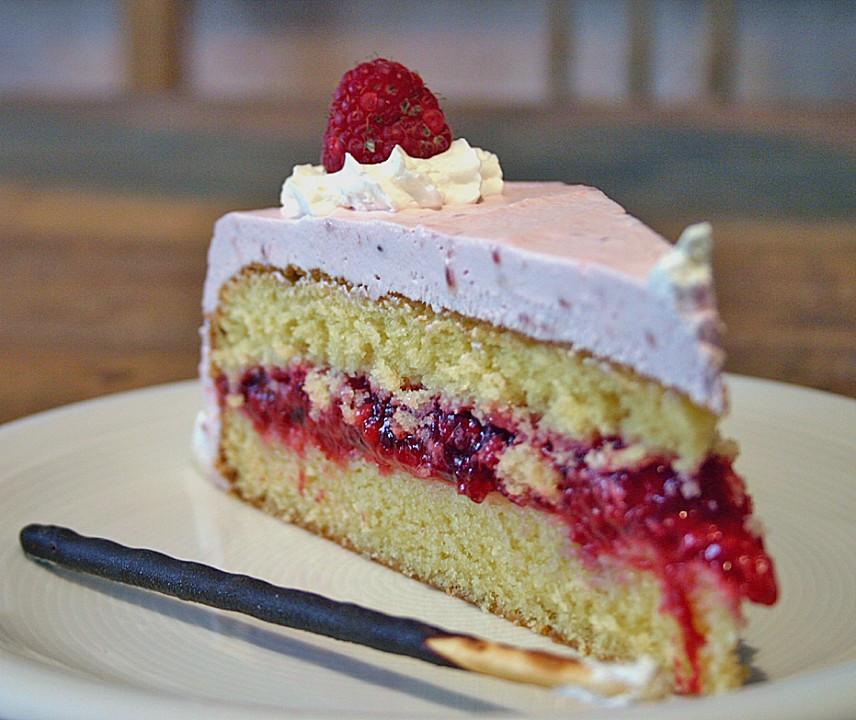 Mothers Day Cake Recipes  Mother s Day German Raspberry Cake • Best German Recipes