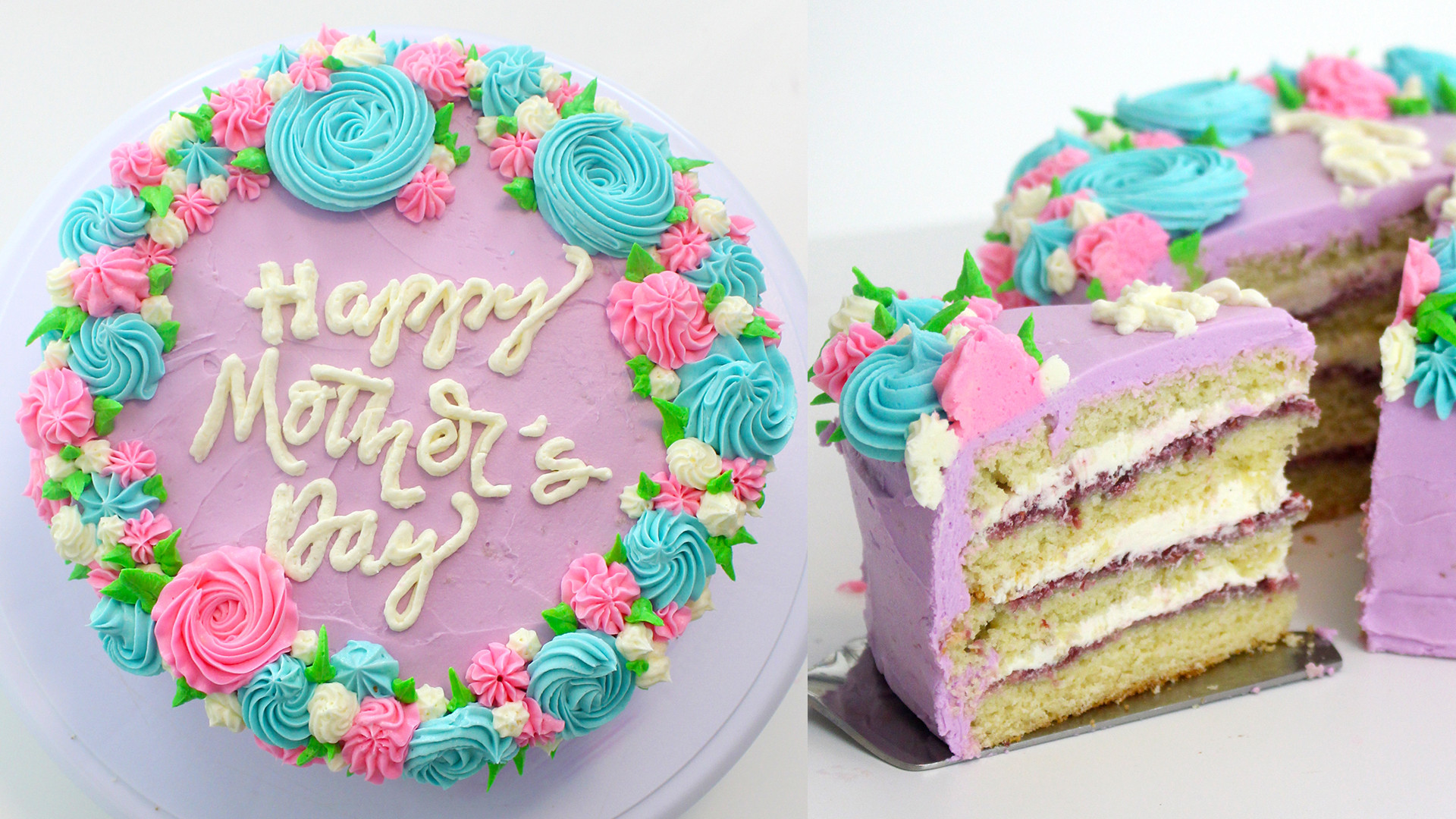 Mothers Day Cake Recipes  pankobunny How to make a Mother's Day Cake Cake Message