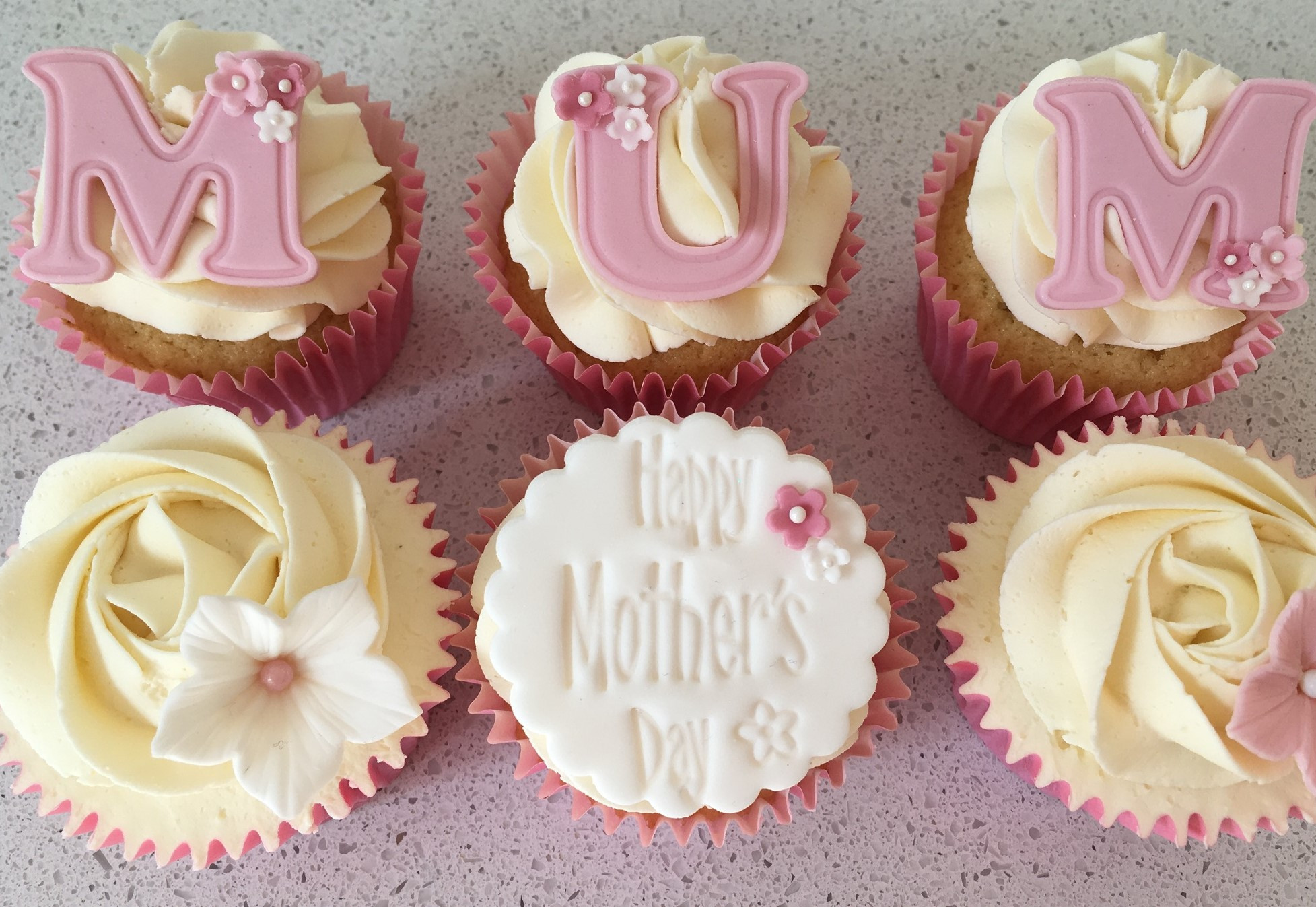 Mothers Day Cupcakes  Mother s Day Cupcakes Delivered Cake Cetera