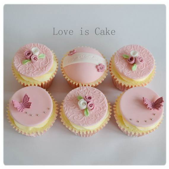 Mothers Day Cupcakes  70 Affectionate Mother s Day Cupcake Ideas family