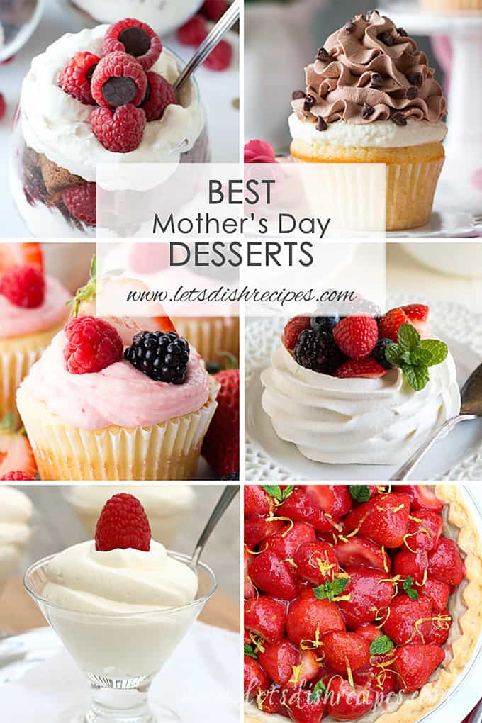 Mothers Day Desserts  Best Mother s Day Desserts