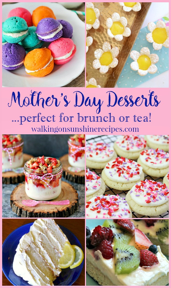 Mothers Day Desserts  Party Mother s Day Desserts perfect for Brunch or Tea