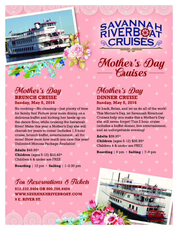 Mothers Day Dinner Cruise  Southern Mamas Blog Archive Mother's Day 2016 Mother