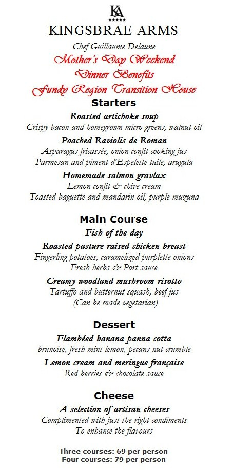 Mothers Day Dinner Menu  Mother's Day Brunch & Dinner Menus