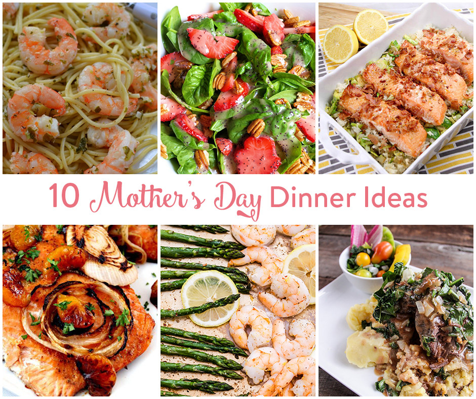 Mothers Day Dinner Recipes  10 Mother s Day Dinner Ideas • The Inspired Home