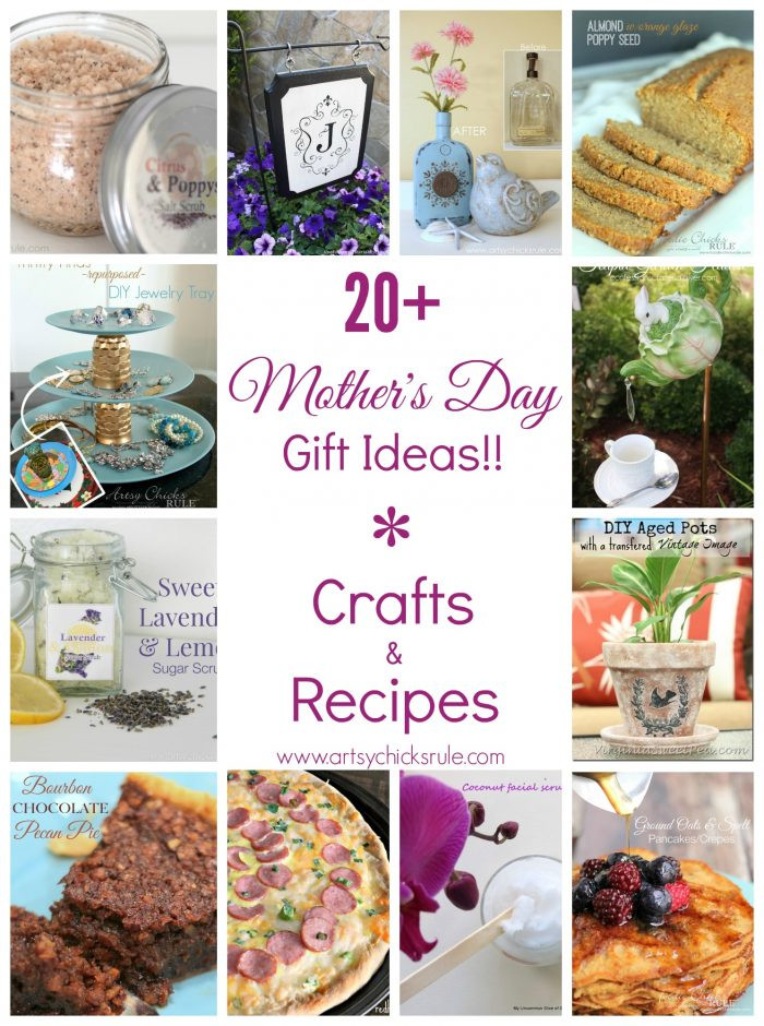 Mothers Day Food Gifts  Mother s Day Gift Ideas Simple Personalized Crafts