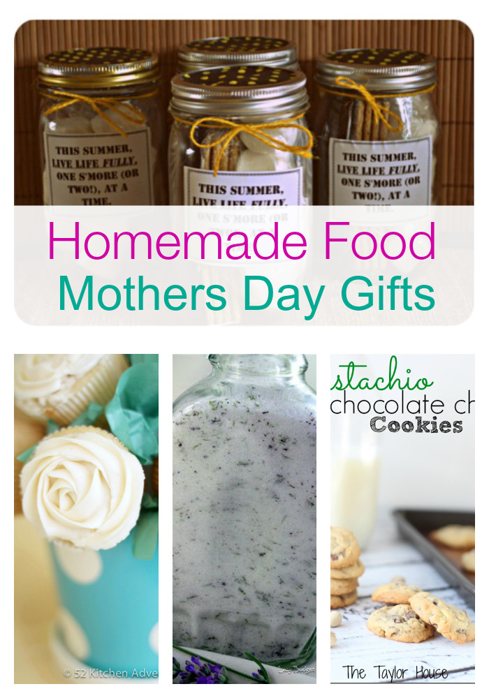Mothers Day Food Gifts  Homemade Mothers Day Gifts