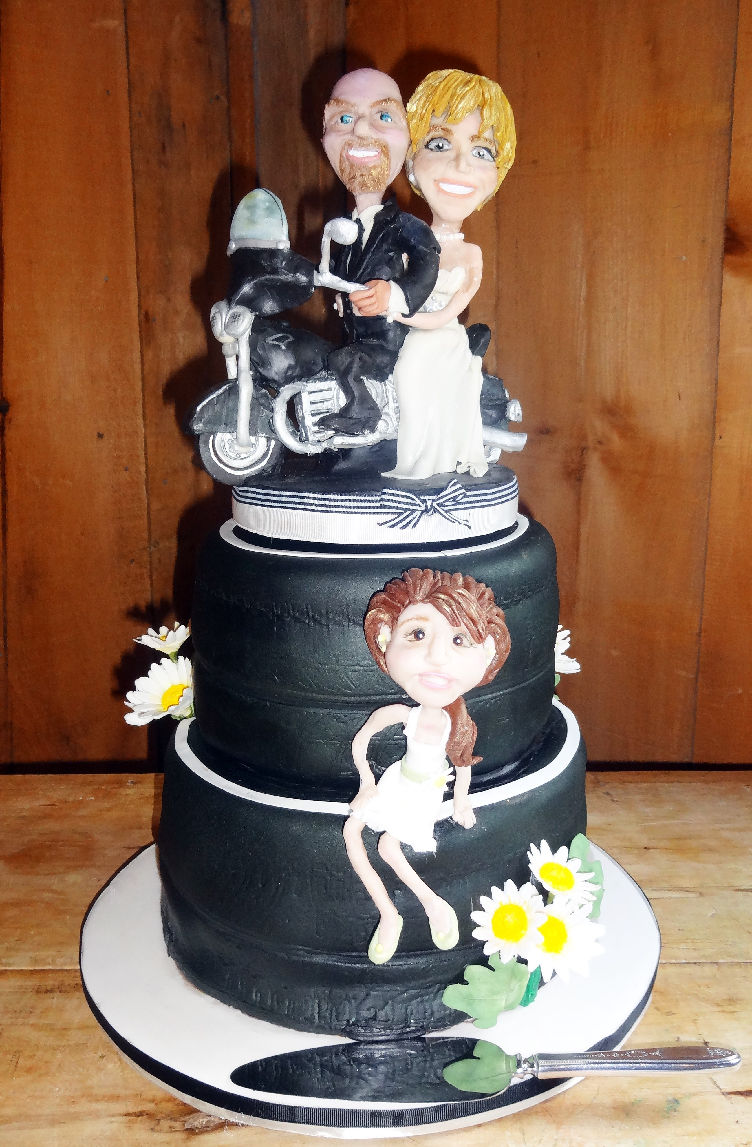 Motorcycle Wedding Cakes  A Biker Wedding – ottawa wedding journal