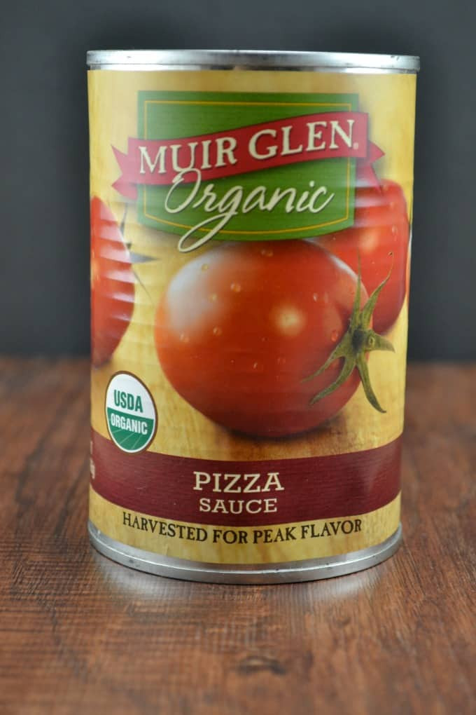 Muir Glen Organic Pizza Sauce  Ve arian Lavash Pizza Build Your Bite