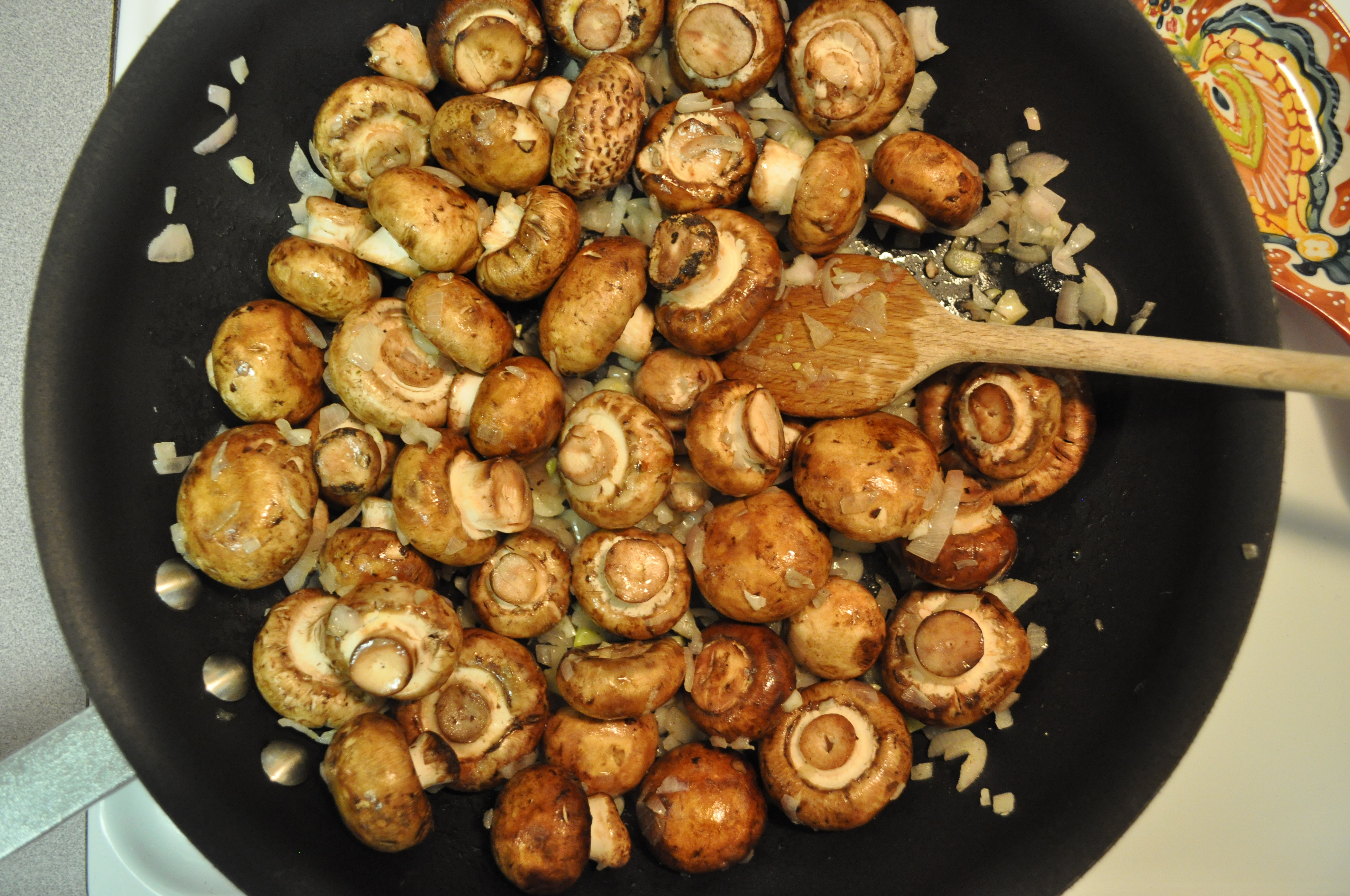 Mushroom Main Dish Recipes Healthy  sautéed merlot mushrooms Fed & Fit