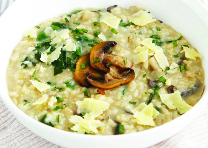 Mushroom Main Dish Recipes Healthy  Deliciously Healthy Mushroom Risotto