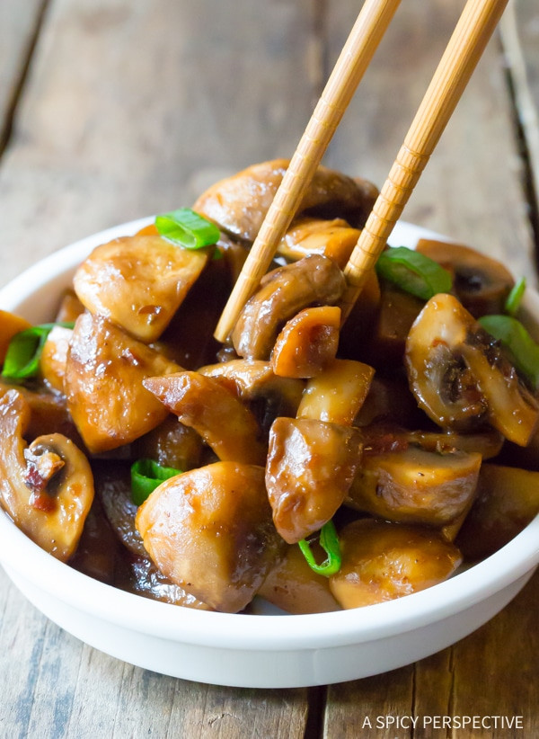 Mushroom Main Dish Recipes Healthy  Asian Stir Fried Mushrooms A Spicy Perspective
