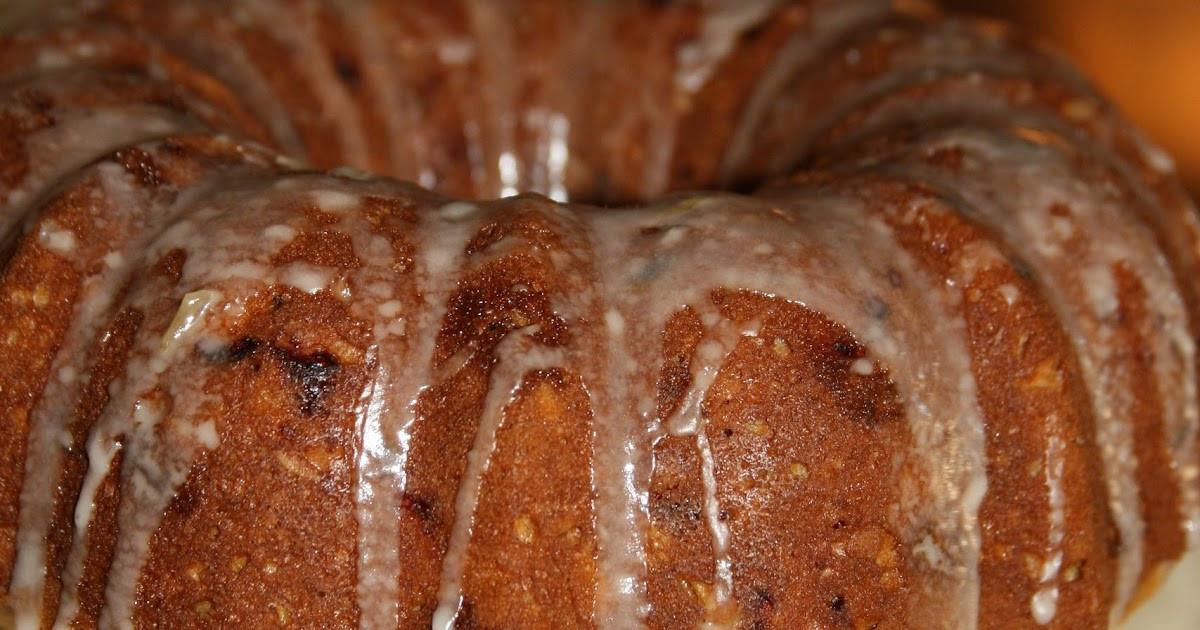 My Big Fat Greek Wedding Bundt Cake  Haystacks & Champagne Orange Ginger Cranberry Oat Bundt Cake